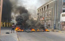 احتجاجات غاضبة وقطع للطرقات في عدن وعدداً من مدن الجنوب