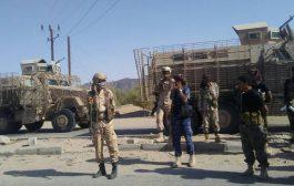 قوات النخبة الشبوانية تقوم بتأمين مدينة نصاب بمحافظة شبوة