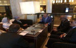 لملس يلتقي مجموعة البنك الدولي