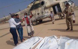 فرق الانقاذ تنتشل ثلاث جثث في محافظة المهرة