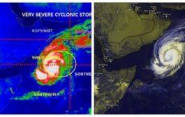 """تراجع إعصار """"لبان"""" إلى عاصفة مدارية غرب بحر العرب"""