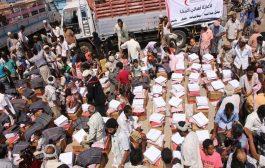 الهلال الاحمر الاماراتي يواصل تقديم المساعدات الانساني لاطفال الساحل الغربي