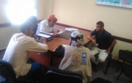 مدير عام المضاربة بلحج يلتقي فريق منظمة اكسفام ويحثهم على استهداف المناطق المحرومة