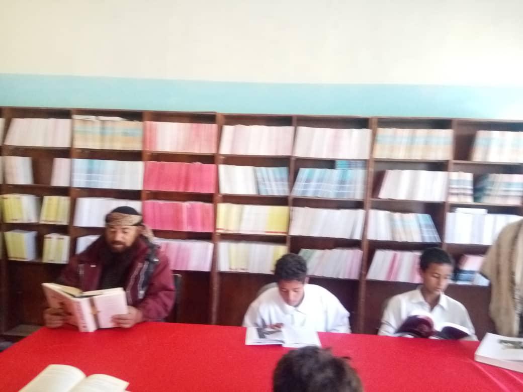 المجلس الانتقالي الجنوبي بلبعوس يفتتح المكتبة المدرسية وروضة الاطفال في مدرسة الشهيد العودي بلبعوس