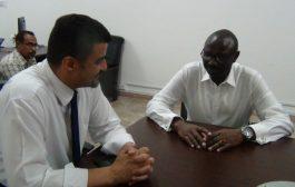 المحافظ سالمين يبحث مع مدير  اليونسيف زيادة دعم الخدمات الاساسية لمدينة عدن