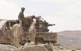 صعدة : قوات الجيش الوطني تواصل التقدم في مديرية باقم