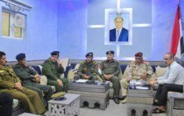 الميسري يؤكد على أهمية إعادة افتتاح كلية الشرطة بحضرموت