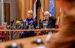 أبرز ما ورد في المؤتمر الصحفي المشترك للمبعوث الأممي لليمن مارتن جريفيث و وزيرة الخارجية السويدية ماروت فايستروم في السويد