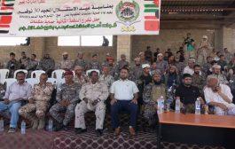 معسكر الصولبان يشهد حفل تخرج الدفعة الثانية من حرس المنشآت الحكومية