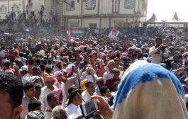 محافظة المهرة تحتفل بعيد الإستقلال الـ30 من نوفمبر بمهرجان جماهيري وخطابي حاشد