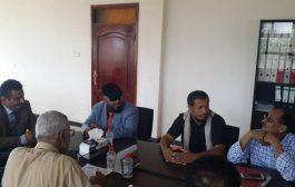 مدير عام لودر يلتقي وزير الكهرباء ويناقش معه وضع كهرباء المنطقة الوسطى