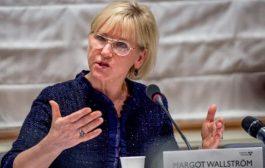 وزيرة خارجية السويد: نتائج مشاورات السلام اليمنية ستعرض على الأمم_المتحـدة غدًا