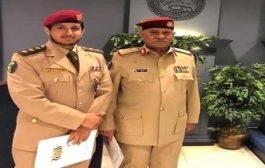 المقدشي يقدش الملحق العسكري في السفارة اليمنية بواشنطن ويعين نجله خلفا