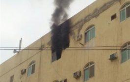حريق يلتهم شقة سكنية في المعلا