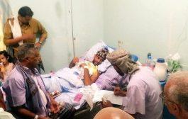 عقد قران احد جرحى الساحل الغربي في المستشفى