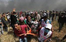 استشهاد طفل فلسطيني بمسيرة العودة ..وحماس تحمل إسرائيل مسئولية التصعيد بالقطاع