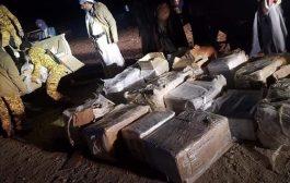 شاهد بالصور :  طائرات مسيرة بيد امن الجوف كانت في طريقها الى المليشيات في صنعاء