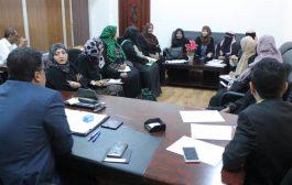 وكيل أول محافظة عدن يلتقي بقطاع المرأة في المحافظة