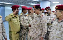 عاجل : استقبال مهيب لرئيس هيئة الاركان العامة في العاصمة المؤقتة عدن
