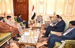 رئيس الجمهورية يؤكد على ضرورة تفعيل جبهات القتال في مختلف مناطق التماس