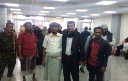 ابو أصيل يعود الى عدن بعد رحلة علاجية ناجحة
