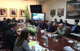 وزير الخارجية يلتقي مجموعة سفراء الدول الخمس دائمة العضوية في مجلس الأمن