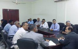 وزير العدل يترأس اجتماع لجنة اعداد الحساب الختامي في الوزارة