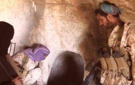 قوات الجيش تعثر على شبكة أنفاق صخرية معقدة في صعدة