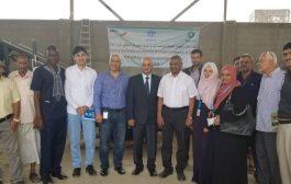 بدء اعمال اعادة تأهيل شبكة الصرف الصحي في عدن والضالع