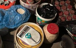 صور : شاهد ماذا عثر الأمن المصري داخل شقة انتحاري فجر نفسهبالأزهر