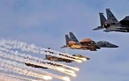 طيران التحالف يقصف تجمعات حوثية في صعـدة ومقتل العشرات