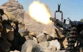 الجيش الوطني يستعيد مواقع استراتيجية في جبهة الحشاء غرب الضـالع