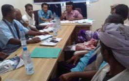الحوثري يترأس اجتماعا لرؤساء القيادات المحلية للانتقالي لمديريات أبين
