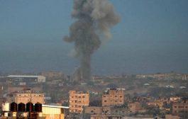 الجيش الإسرائيلي يشن ضربات على قطاع غزة