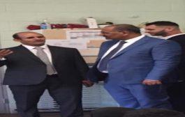 رئيس المجلس الانتقالي يزور المدرسة العربية في ولاية شفيلد ببريطانيا