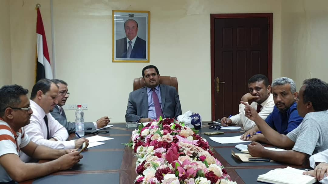 وزير حقوق الانسان يؤكد على اهمية تفعيل عمل الإدارات العامة بالوزارة