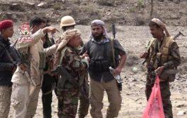 قائد التحـالف_العربي يهنئ أبطال الجيش الوطني والحزام الأمني على الانتصارات في جبهة مريس
