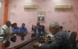الصلاحي يعقد إجتماع مع إعلامي لحج لتوحيد الجهود لخدمة المواطن والمحافظة