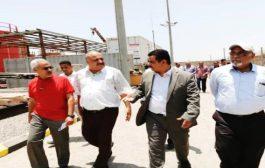 وزير الكهرباء يتفقد محطات التوليد بعدن