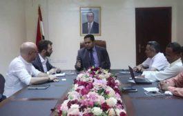 عسكر يناقش مع الصليب الأحمر بناء القدرات في مجال القانون الدولي الإنساني