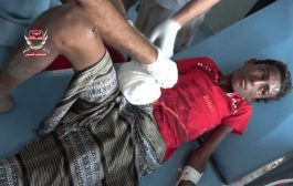 إصابة طفل وامرأة بإستهداف مليشيات الحـوثي لمنازل المواطنين في الجبلية والفازة
