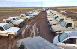 فضيحة جديدة.. الحـوثيون ينهبون معرض سيارات في قعطبة ويعرضوها كغنائم