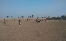 فريق وحيده يفوز على فريق نصر الملوك في النشاط الرياضي بحوطة لحج