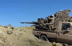 تدمير شاحنة وآلية حوثية شمال الضالع