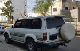 اولاد ثابت في ابين يقدمون سيارة إسعاف لجبهة الضالع