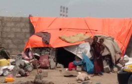 مخيمات النازحين بعدن.. مآسي فاقمتها كارثة الأمطار