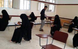 مدير تربية المضاربة يطلع على سير العملية الامتحانية في المديرية