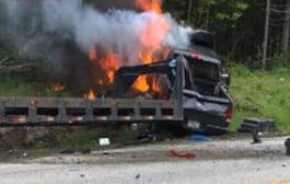 شاحنة تدهس 7 دراجين في الولايات المتحدة بحادث وصف بالمجزرة