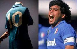 بعد حجبه 27 عاما.. نابولي قد يمنح قميص مارادونا لرودريغيز