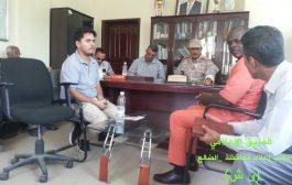 محافظ الضالع يلتقي مدير منظمة المجتمعات العالمية أديك اوجارا